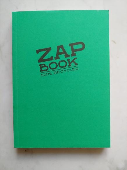 Bright green Zap Book