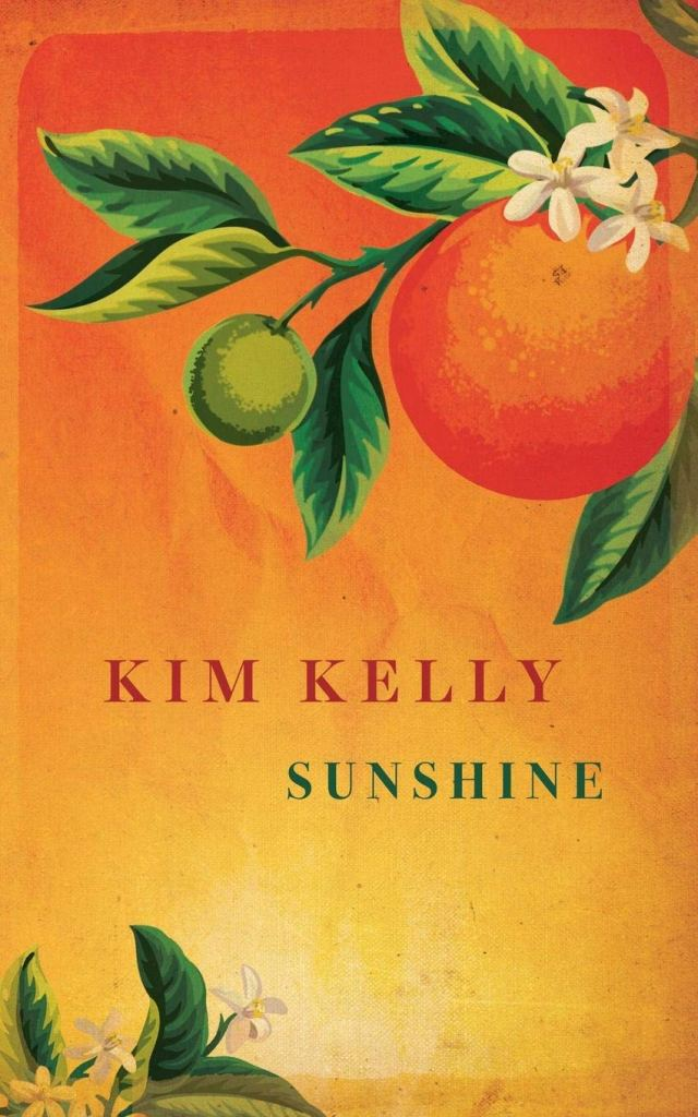 Book cover showing a painting of oranges and orange blossom over an orange-yellow background.